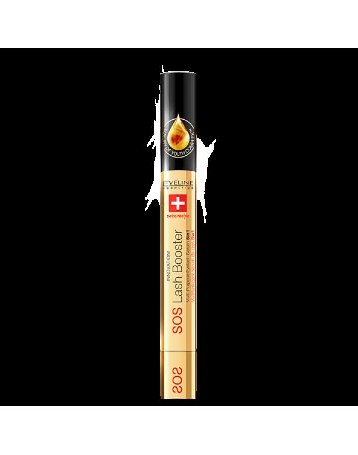 Multifunkcyjne serum do rzęs z olejkiem arganowym 5w1