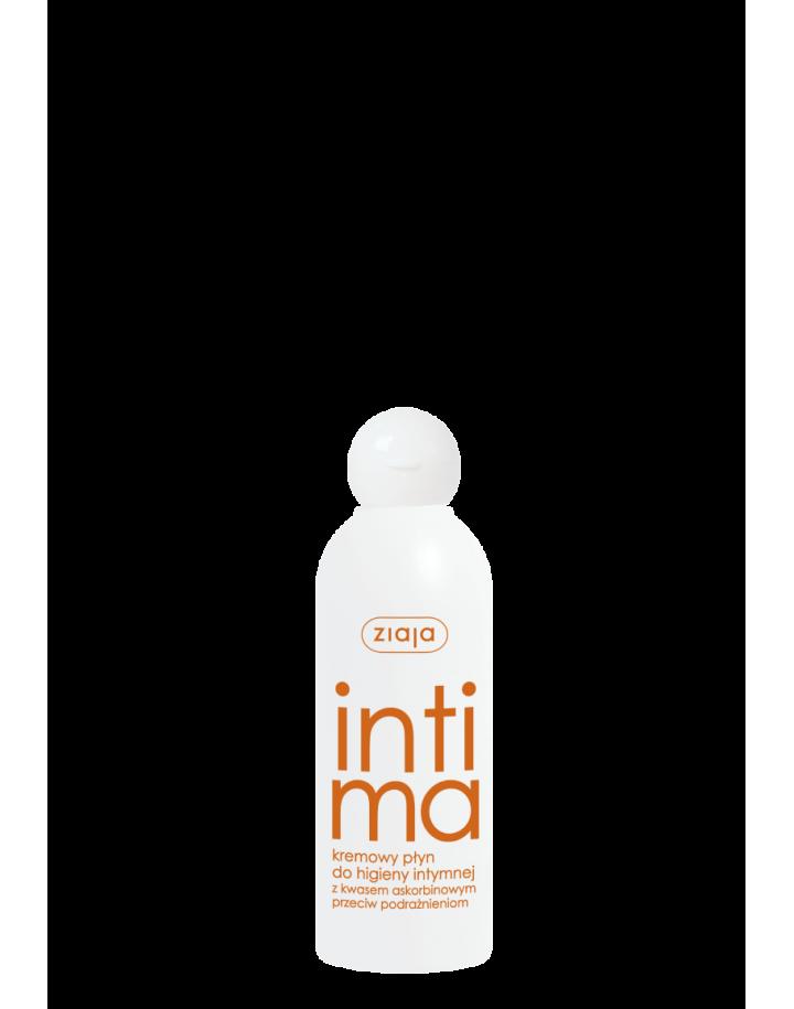 Kremowy płyn do higieny intymnej z kwasem askorbinowym 200ml
