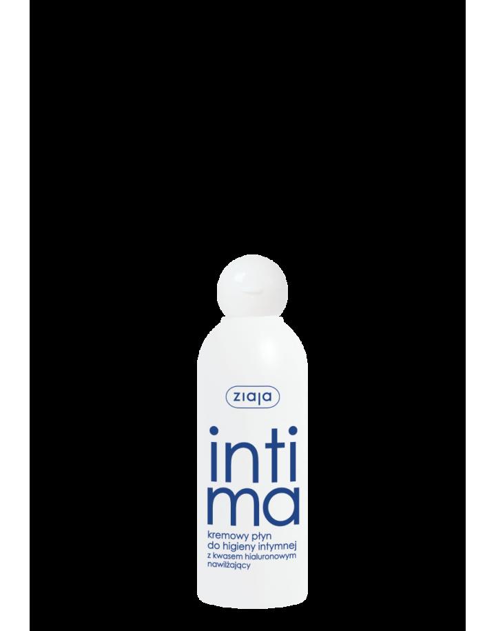 Kremowy płyn do higieny intymnej z kwasem hialuronowym 200ml