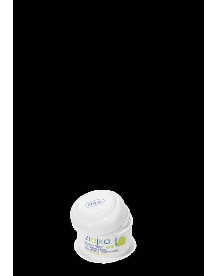 Krem z filtrem SPF 6 dla dzieci i niemowląt ochronny 60ml