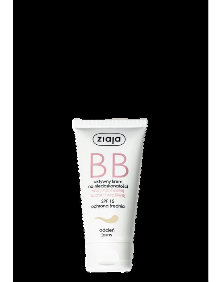 Krem BB do skóry normalnej, suchej i wrażliwej odcień jasny 50ml
