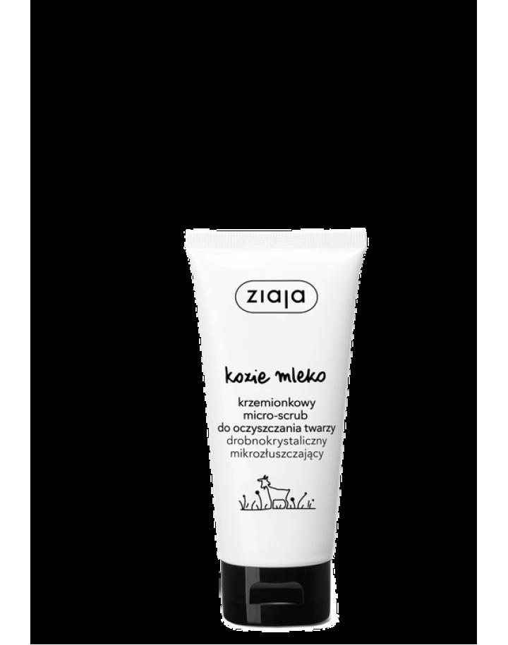 Krzemionkowy micro-scrub do oczyszczania twarzy 75ml