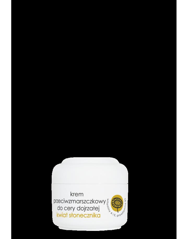 Krem przeciwzmarszczkowy kwiat słonecznika 50ml