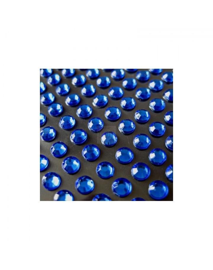Cyrkonie niebieski SS4(1,5mm) 100 szt.