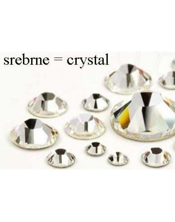 cyrkonie srebrne crystal ss4(1,5mm) 100 szt