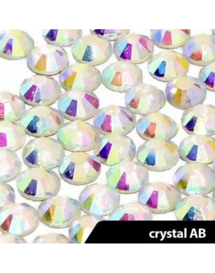 cyrkonie crystal AB ss4(1,5mm) 100 szt