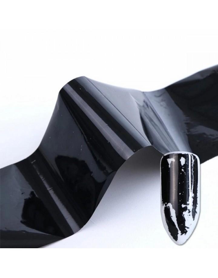 Folia transferowa czarna 10cm