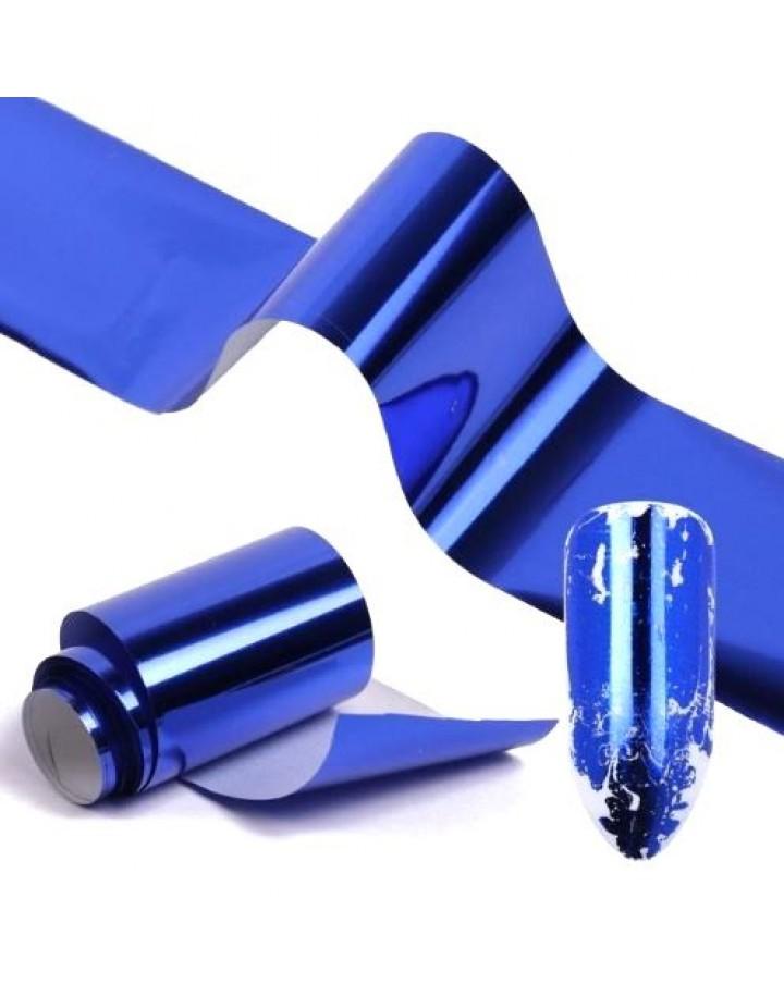 Folia transferowa niebieska 10cm