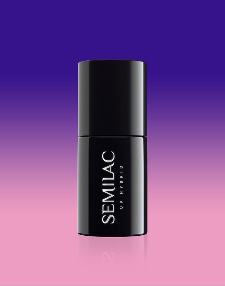 647 Semilac Thermal Indigo&Lilac