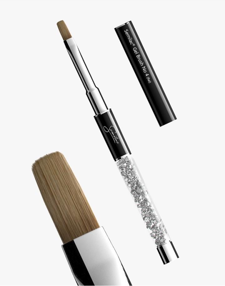 Pędzel N 4 flat Semilac Gel Brush