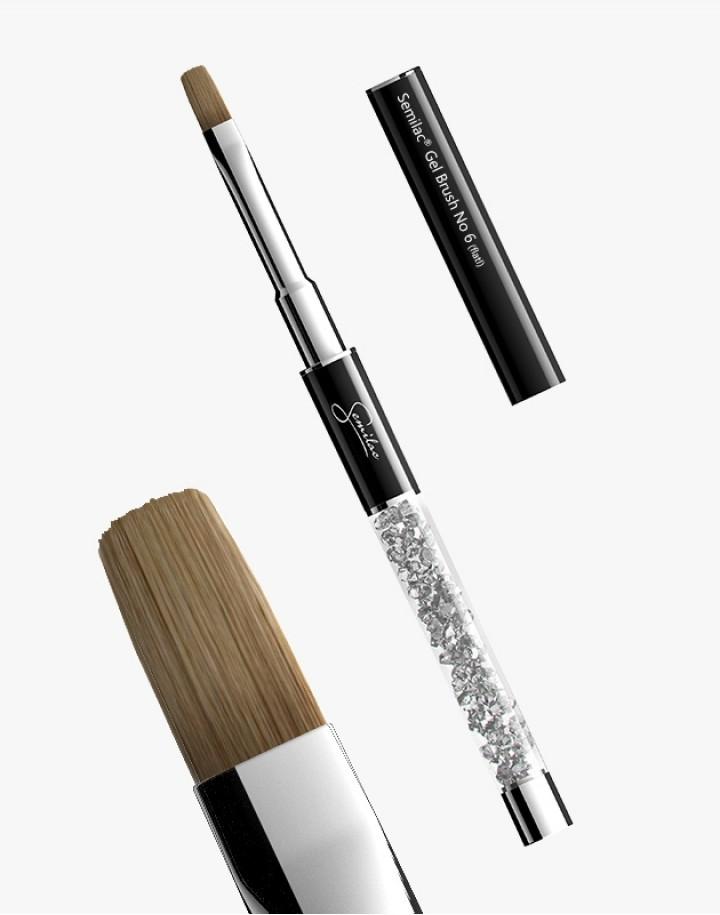 Pędzelek N 6 flat Semilac Gel Brush