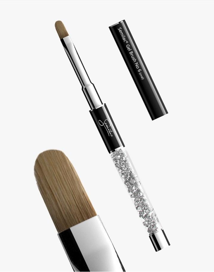 Pędzelek N 6 oval Semilac Gel Brush