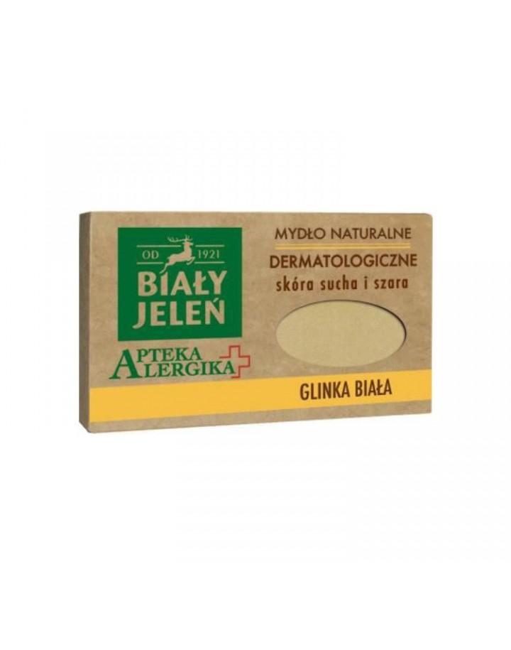 Mydło dermatologiczne z glinką białą Apteka Alergika 125g