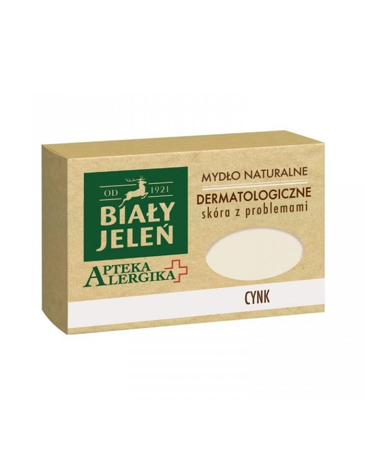 Mydło dermatologiczne z cynkiem Apteka Alergika 125 g