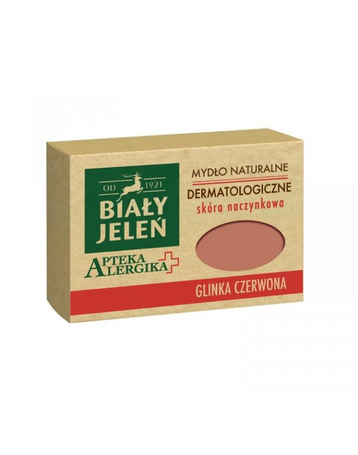 Mydło dermatologiczne z glinką czerwoną Apteka Alergika 125 g