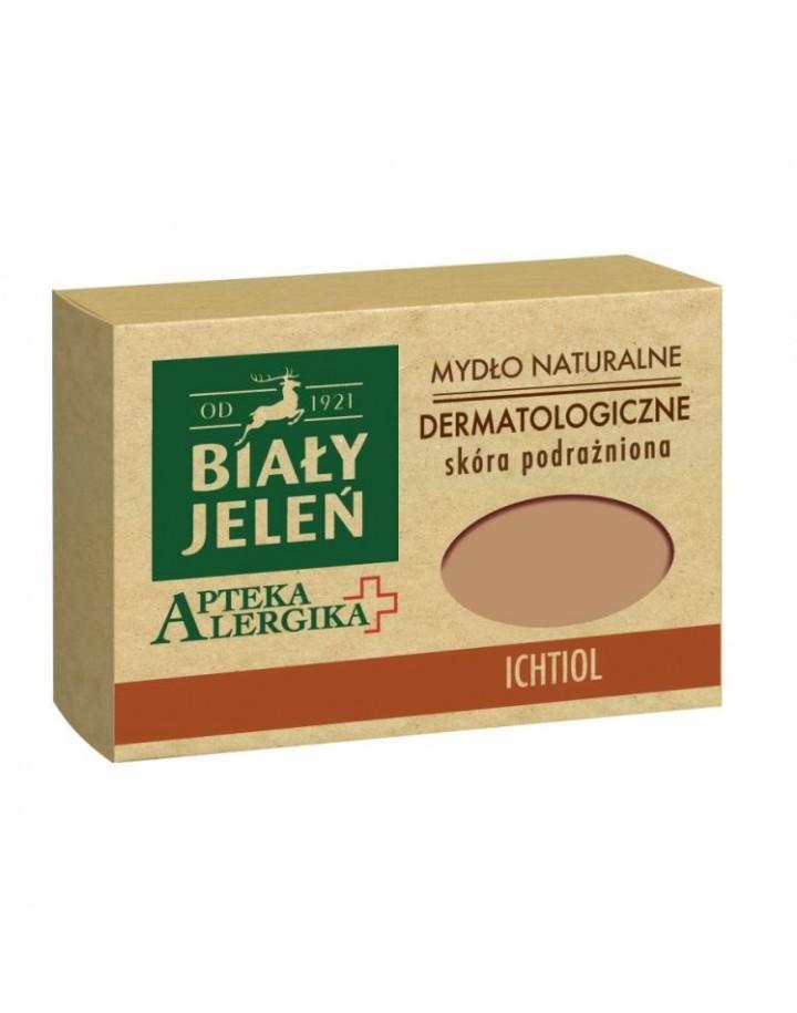 Mydło dermatologiczne z ichtiolem Apteka Alergika 125 g
