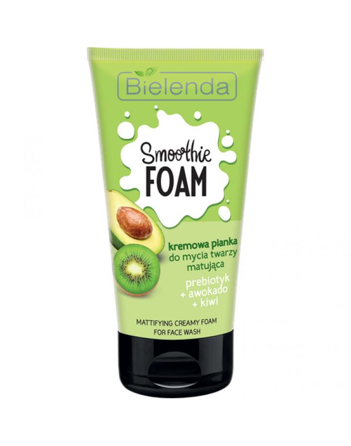 Pianka do mycia twarzy normalizująca Prebiotyk + Awokado + Kiwi 150 g