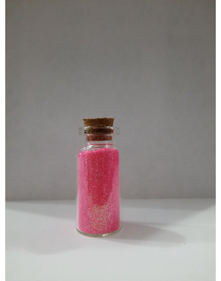 Brokat różowy 8g