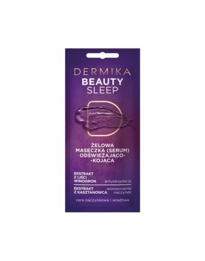 Beauty Sleep – Żelowa Maseczka (serum) Odświeżająco-Kojąca