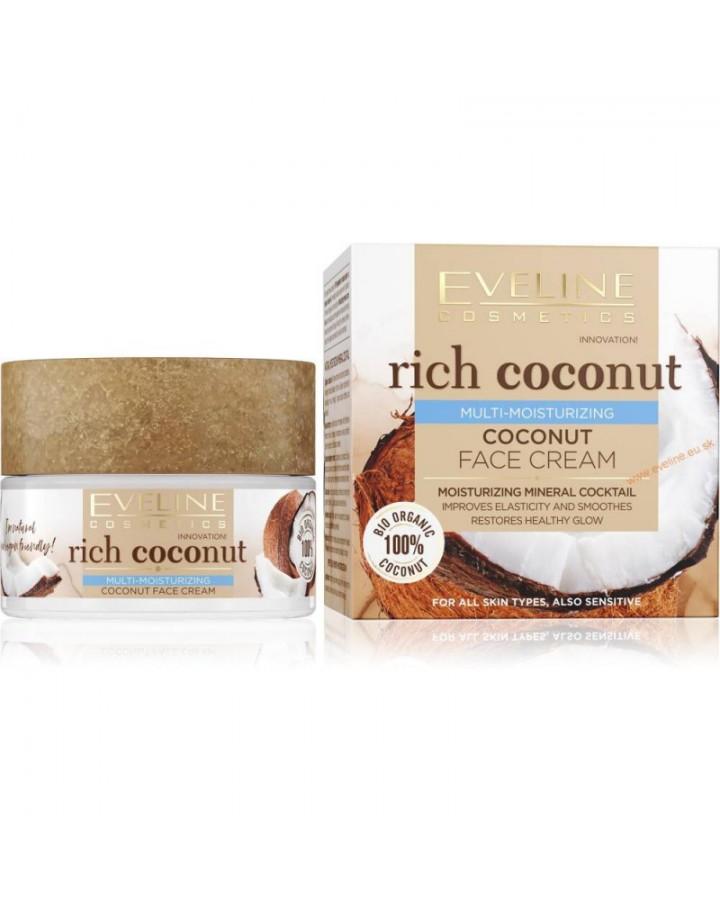 nawilżający kokosowy krem do twarzy 50ml