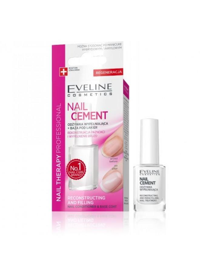 Odżywka + Baza Eveline Nail Therapy Nail Cement