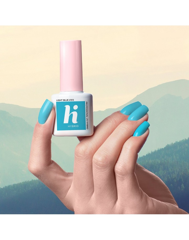 313 HI HYBRID 5 ML LIGHT BLUE LAKIER HYBRYDOWY