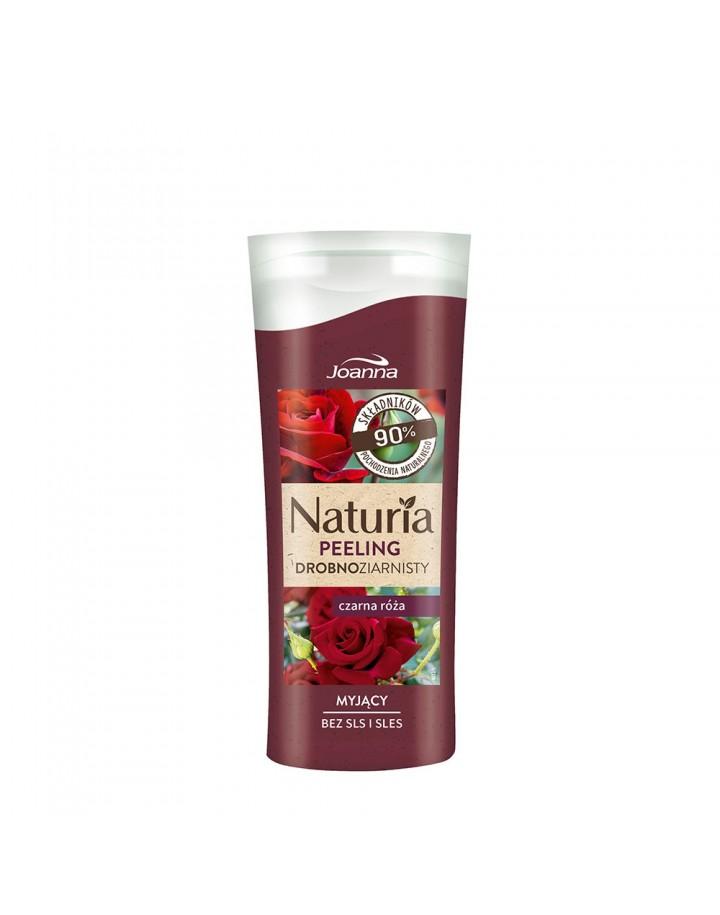 Peeling NATURIA drobnoziarnisty Czarna Róża 100g