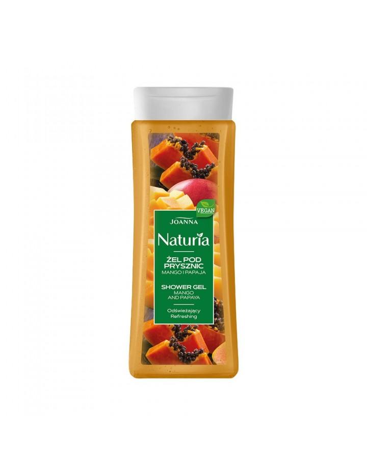 Żel pod prysznic NATURIA mango i papaja 300ml