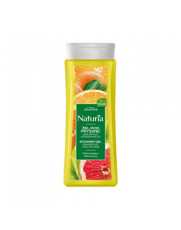 Żel pod prysznic NATURIA grejpfrut i pomarańcza 300mL
