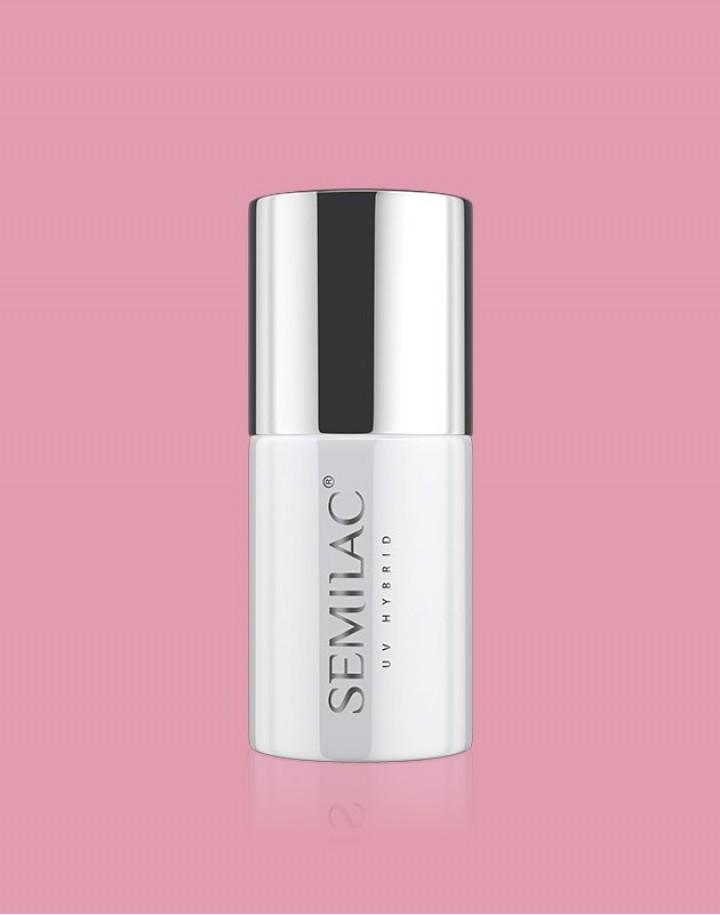 198 Lakier hybrydowy UV Hybrid Semilac Business Line Powder Pink