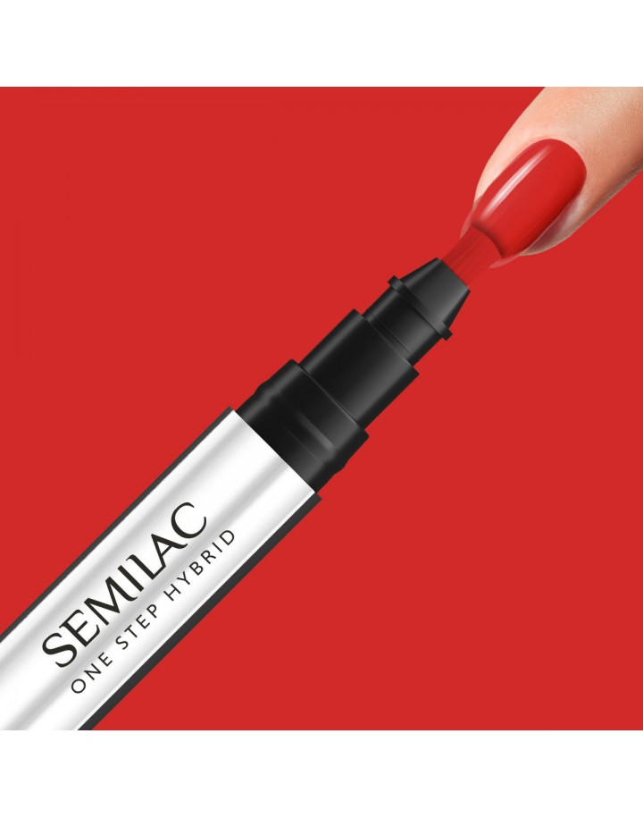 S530 ONE STEP HYBRID SCARLET 3ML SEMILAC
