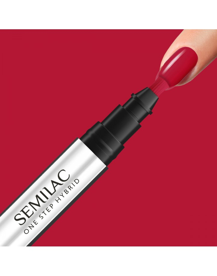 S550 ONE STEP HYBRID PURE RED 3ML SEMILAC