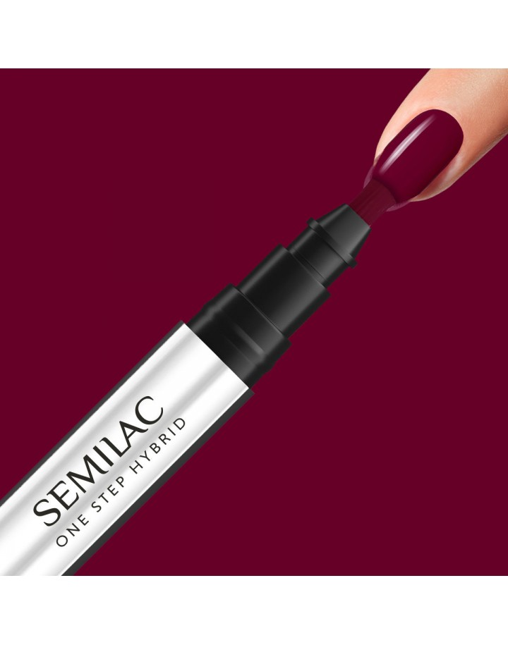 S580 ONE STEP HYBRID CRIMSON 3ML SEMILAC