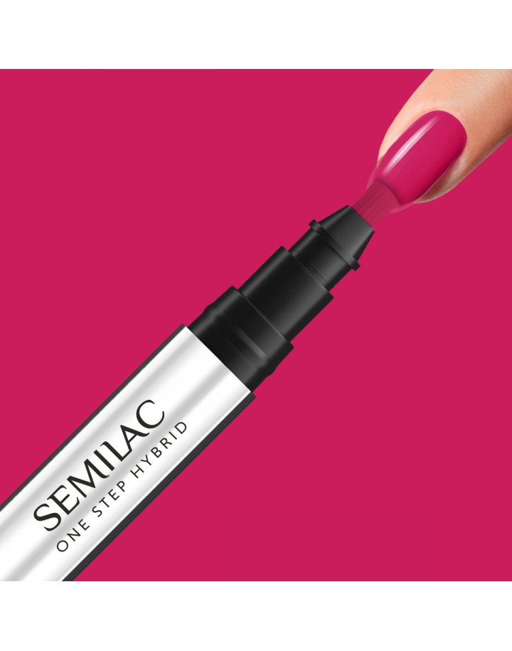 S680 ONE STEP HYBRID MAGENTA 3ML SEMILAC