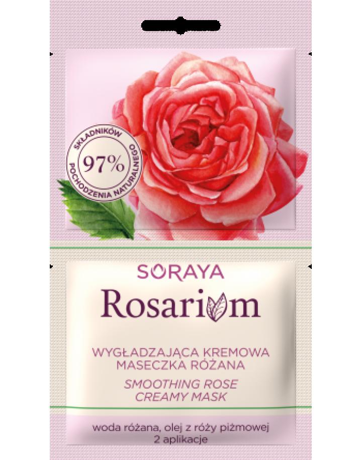 Wygładzająca kremowa maseczka różana 10ml