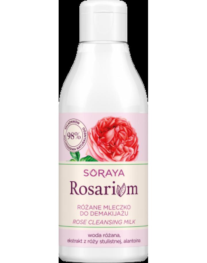 Różane mleczko do demakijażu 200ml
