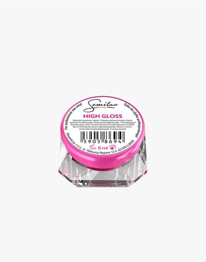 Semilac UV Gel High Gloss 5ml
